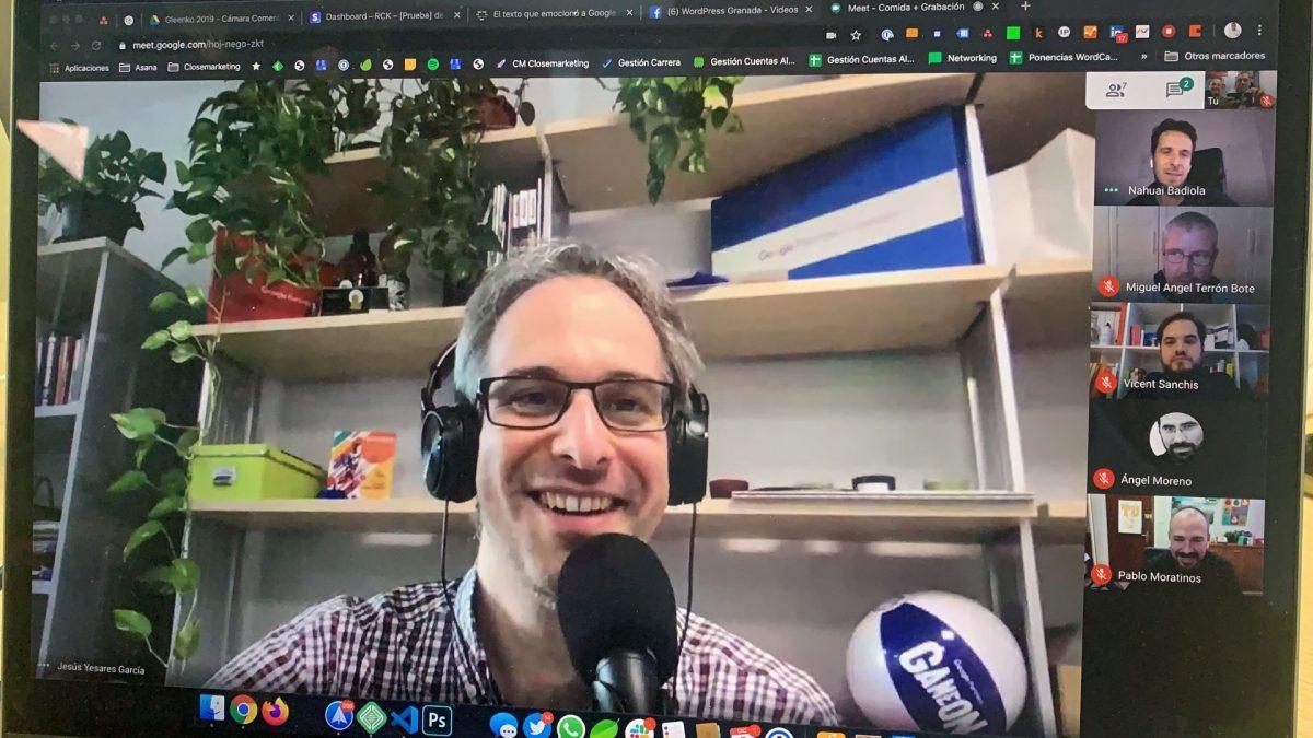 Volviendo de la WordCamp Granada